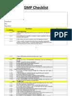 355 GMP Checklist