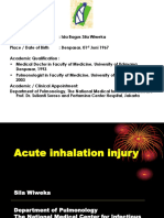 Acute Inhalation Injury