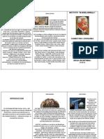 trifolio  de sociología