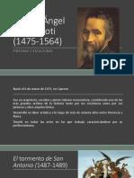 Miguel Ángel Buonarroti Pinturas y Esculturas