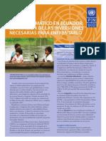 1 Inversiones Para Cambio Climático en Ecuador