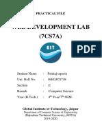 Wd Lab Work Pankaj(2)