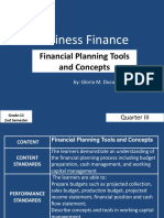 Chapter 3 Financial Planning Tools and Concepts