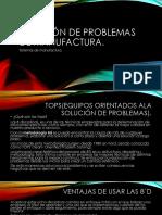 Solución de Problemas de Manufactura Unidad 3