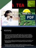 Product Profile Presentation on Tata Tea