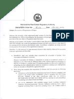 Order on Revocation of Registration of Project V2