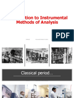 1 Introduction to Instrumental Methods of Analysis (1)