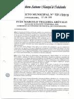 Dm 131_2019 Patentes