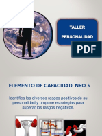 Taller de Personalidad Version 2019