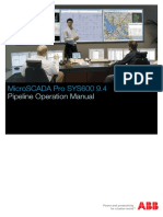 SYS600_Pipeline Operation
