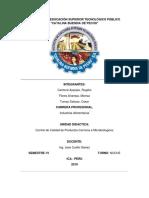 Control de Calidad de Carne de Pescado y Res