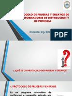 PROTOCOLO DE PRUEBAS Y ENSAYOS DE TRANSFORMADORES DE DISTRIBUCION Y DE POTENCIA.pdf