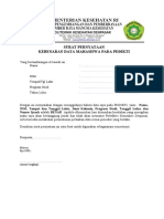 Surat Pernyataan Kebenaran Data Pddikti Edit