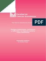 Riesgos ambientales, antrópicos y naturales
