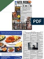 Kuta Weekly - Edition 657 Bali's Premier Newspaper