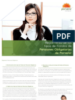 Reglamento pensiones