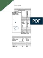 Cálculo de Cantidades de Acero y de Excavación
