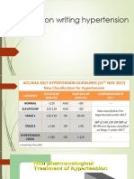 Prescription Writing Hypertension