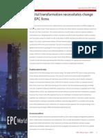 At-05333-EPC World - Digital Transformation necessitates Change for EPC Firms