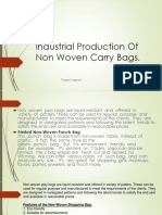 Industrial Production Of Non Woven Carry Bags.pptx