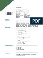 Kabil Resume