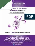 Paket 7 Fisika SMP 2016 ALC Indonesia