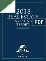 2018 Real Estate Investing Report