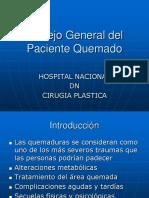 MANEJO DE PX QUEMADOS HN