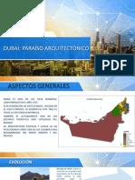 Dubai Análisis Urbano
