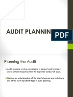 Audit Planning 1