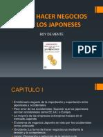 Cómo Hacer Negocios Con Los Japoneses