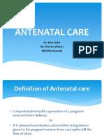 Antenatal Care Maa Presentation
