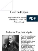 Freud and Lacan
