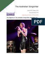 The Australian Songwriter Edition 144