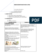Detailed Lesson Plan in Tle 10 Fbs