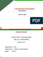 Intrim Presentation Student Project