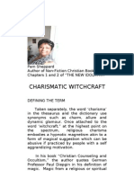 CHARISMATIC WITCHCRAFT