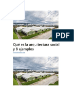 Qué Es La Arquitectura Social y 8 Ejemplos