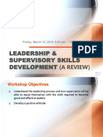 Leadership & Supervisory Skills Development