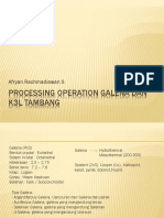 3. Processing operation Galena dan K3L Tambang.pptx