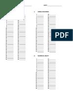 Answer Sheet (IQ, Verbal, Numerical) (1)