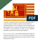 Programma FONDACO Venice Guitar Ensemble