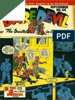 Daredevil Comics 44 , 1940's