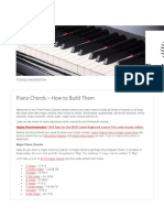 Piano Chords