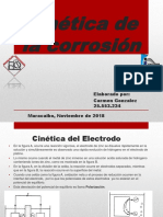 Cinética de La Corrosión CARMEN GONZALEZ