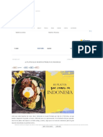 10 Platos a Probar Indonesia