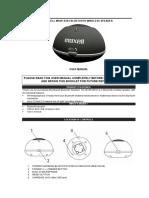 BlueTooth Zvucnik MXSP-BT01-User-Manual
