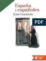 Juan Goytisolo España y Los Españoles