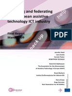 AnalysingandfederatingtheEuropeanassistivetechnologyICTindustry-finalreport