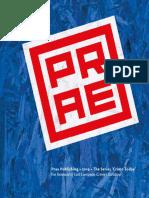 Prae Publishing • 2019 • The Series 'Crime Today' • Renewal of East European Crime Literature